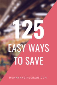 Ways to save at the market