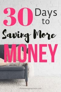 save more money