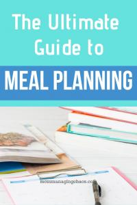 Family Meal Planning