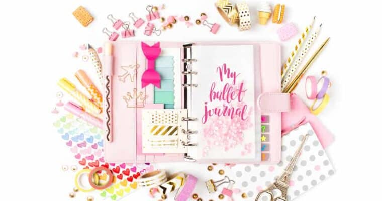 Bullet Journal Ideas for Busy Moms (No Artistic Ability Needed)