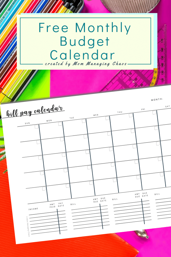 image about Create a Printable Monthly Bill Organizer identified as Cost-free Printable Regular monthly Monthly bill Rate Log A Costs towards Pay out