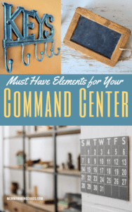 essential elements of a family command center